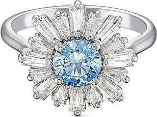 SWAROVSKI Sunshine Ring Cz Fancy Light Blue 7