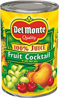 (Pack of 12) Del Monte Canned Fruit Cocktail in 100% Juice, 12x15 oz. Cans