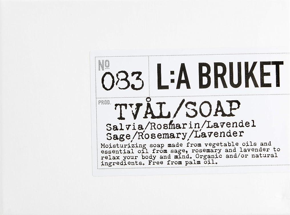 修理工グループ長いですL:a Bruket (ラ ブルケット) バーソープ (セージ?ローズマリー?ラベンダー) 120g