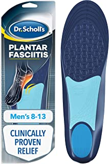 Dr. Scholl's Plantar Fasciitis Pain Relief Orthotics // Clinically Proven Relief and Prevention of Plantar Fasciitis Pain ...