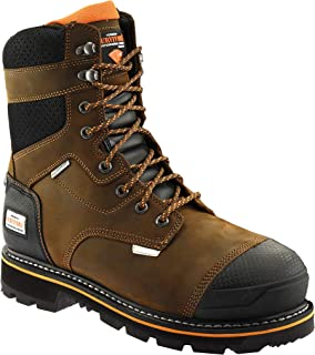 Herman Survivors Pro Series Waterproof Steel Toe Slip Resistant Boots ASTM Rated Safe Construction Work Boots