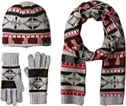 Beanie Scarf Gloves Set