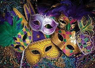 SJOLOON 8x6ft Masquerade Backdrops for Photography Party Photo Background Mardi Gras Backdrop Vinyl Studio Props 11079