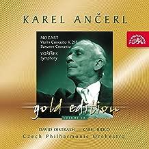 Ančerl Gold Edition 18. Mozart: Violin Concerto K 216, Bassoon Concerto - Voříšek: Symphony in D