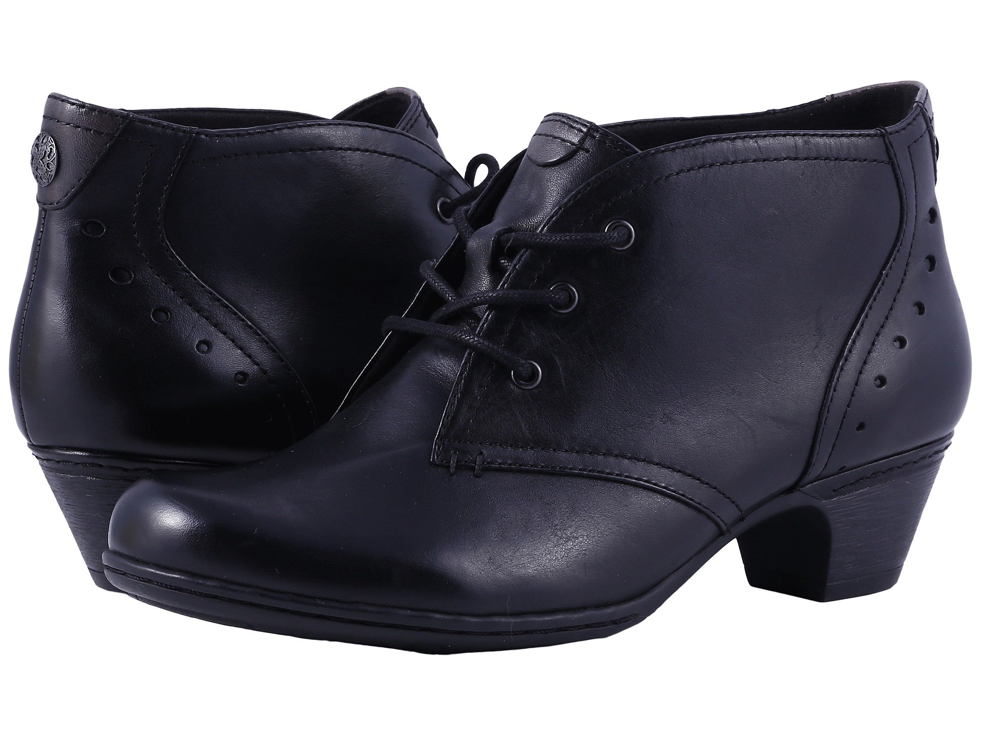 Aria Cobb Rockport Collection Hill Black Leather qTdxdYw0