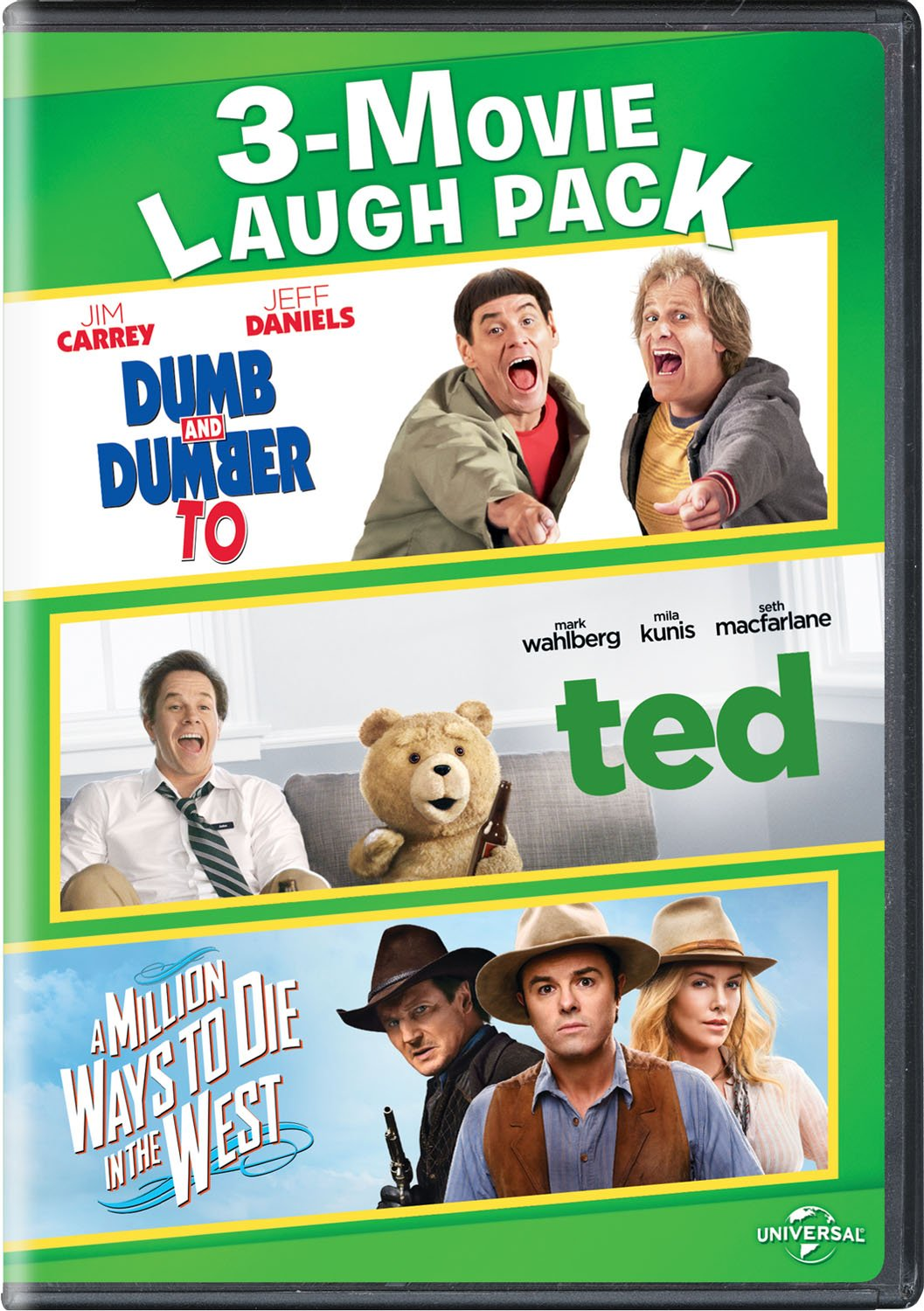 Overseas parallel import regular item Dumb and Dumber To Ted A Million 3-M the to West Max 67% OFF Ways in Die