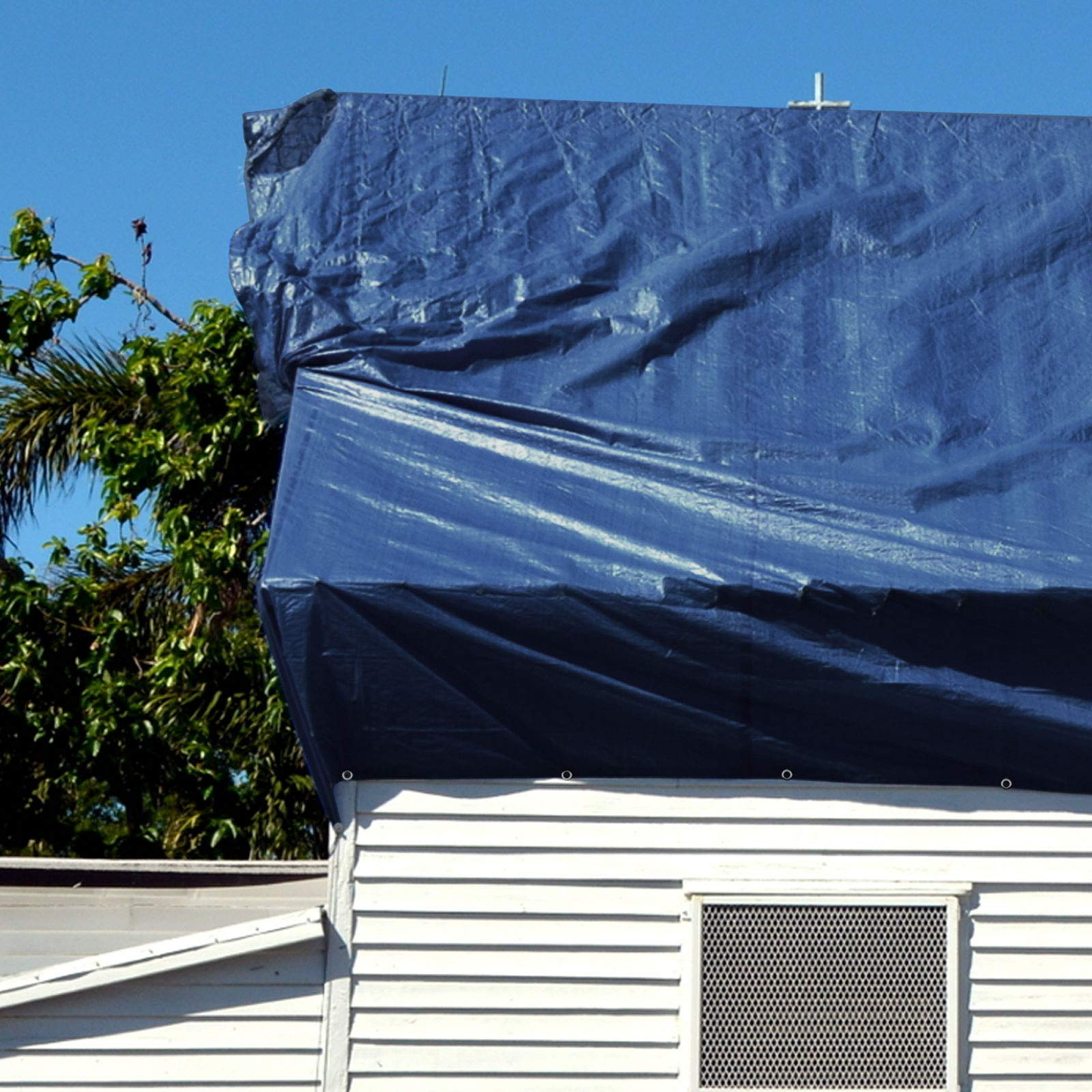 casa pura Toldo Reforzado Impermeable 6x8 - Rafia Exterior | Toldo ...