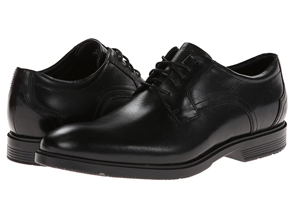 Rockport City Smart Plain Toe Oxford (Black) Men