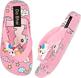 Do Bhai Girls Stylish Slip On Flipflops Slippers Sliders