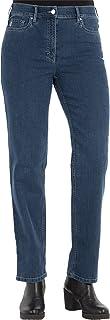 Zerres Dames Jeans Greta Straight Fit Comfort N Stretch