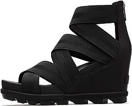Sorel - Women's Joanie II Strap Leather Open Toe Wedge Sandals