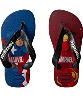 Havaianas Kids - Top Captain America + Iron Man Sandals (Toddler/Little Kid/Big Kid)