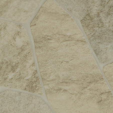 PVC Bodenbelag Bruchstein 2,00 mm 9,50 p. m/² Breite: 200 cm x L/änge: 150 cm