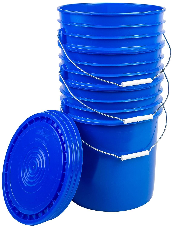 Hudson Exchange - 5DM+5LHV-bl-3 Cheap bargain Premium Animer and price revision with 5 Lid Bucket Gallon