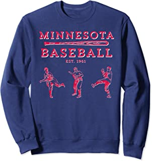 Classic Minnesota Baseball Twin Cities Fan Retro T-Shirt Sweatshirt