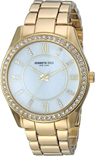 Kenneth Cole Womens Quartz Watch, Analog Display and Stainless Steel Strap KC50739003