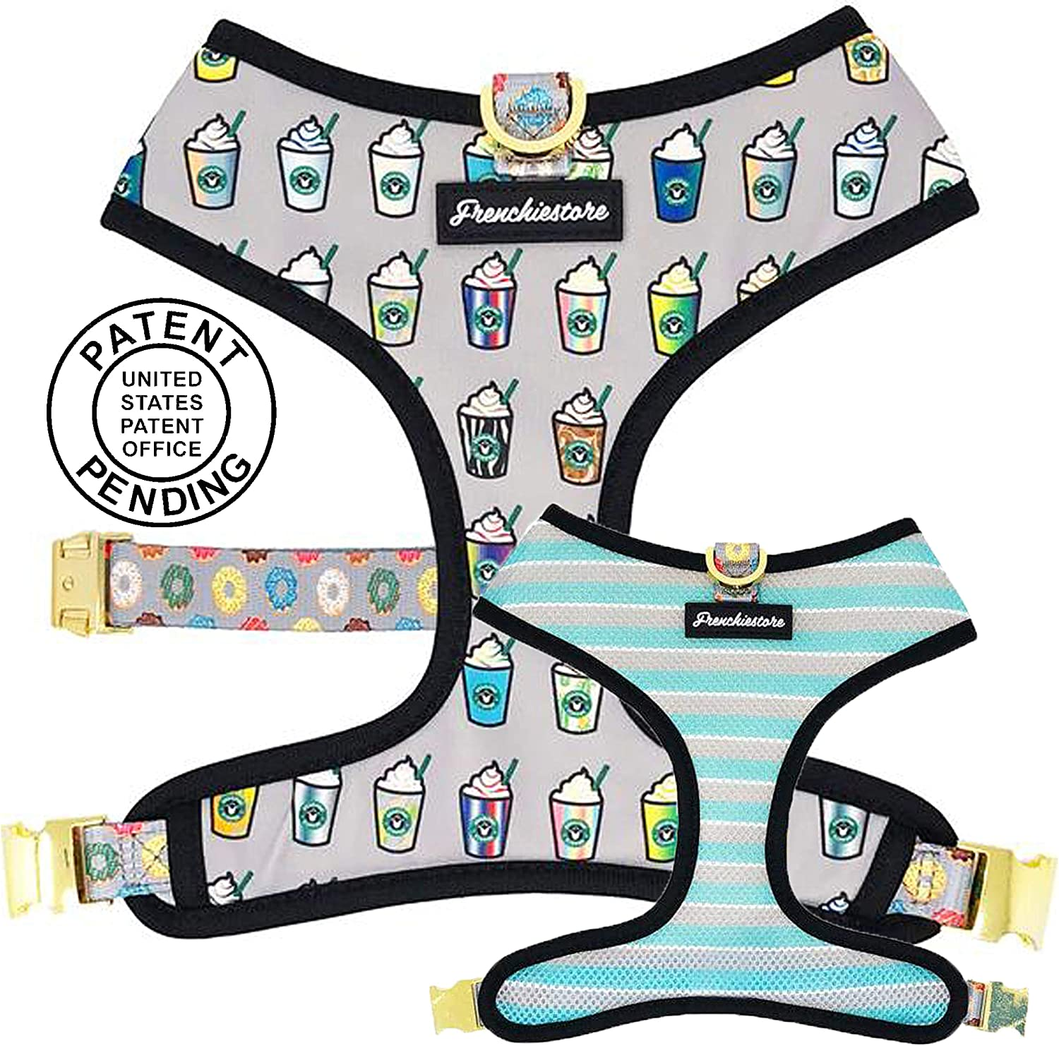 Frenchiestore Vet Approved Dog Be super Max 52% OFF welcome V Pet No-Pull Harness