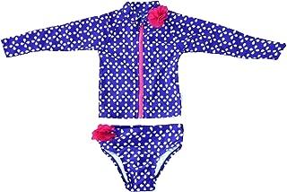 SwimZip Flower Power - Baby UV Sun Protective Rash Guard Swimsuit Set