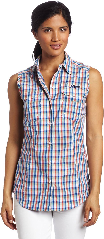 Columbia Women's Super Bonehead Atlanta Mall Shirt Be super welcome Less Sleeve