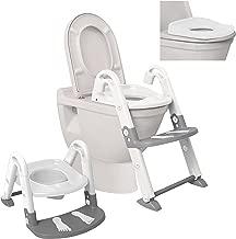 Dreambaby 3 in 1 Toilet Trainer, White/Grey