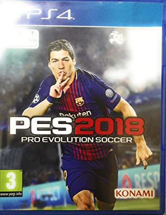 PES 2018 PRO EVOLUTION SOCCER PREMIUM EDITION WITH ARABIC By Konami Region 2 - PlayStation 4