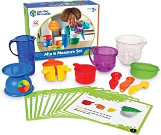 Learning Resources Mix & Measure Activity Set, Experiment Mixing Tools, 22Piece, Ages 3+