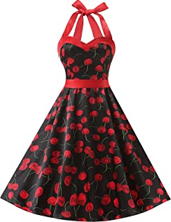 Vintage 1950s Rockabilly Polka Dots Audrey Dress Retro Cocktail Dress