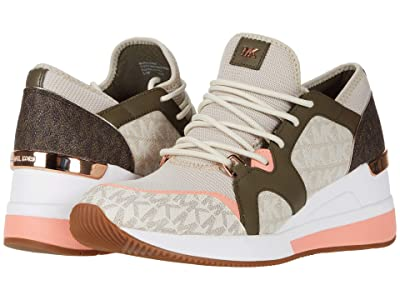 MICHAEL Michael Kors Liv Trainer (Light Sand Multi) Women