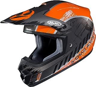 HJC Helmets Unisex-Adult Off-Road-Helmet-Style CS-MX II Star Wars Rebel X-Wing (Black/Orange, Medium)