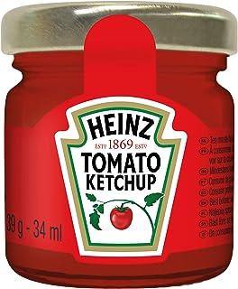 Heinz Portion Jar Tomato Ketchup, 39 gm (Pack Of 80 Glass Mini Jars)