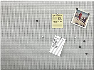 Umbra 035515-410 Bulletboard Magnetic Bulletin Board, 15-Inch by 21-Inch Gray Large