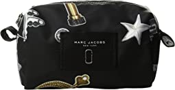 Marc Jacobs - Tossed Charms Printed Knot Large Cosmetic