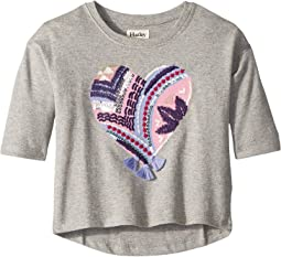 Crafty Heart Pullover (Toddler/Little Kids/Big Kids)