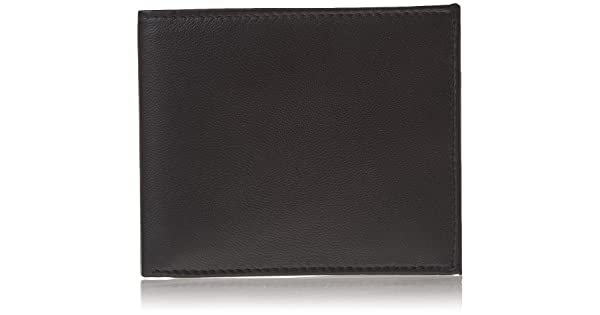 Finest Genuine Leather RFID Blocking Wallet for Men Excellent Credit Card Protector RFID5728-07-01 10 Credit Card Pockets Stop Electronic Pick Pocketing Made with #1 Grade Napa Genuine Leather