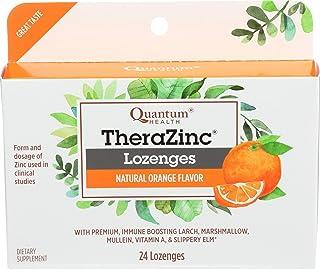 Quantum Therazinc Orange, 24 Count Acetate Lozenges, 0.5 Unit