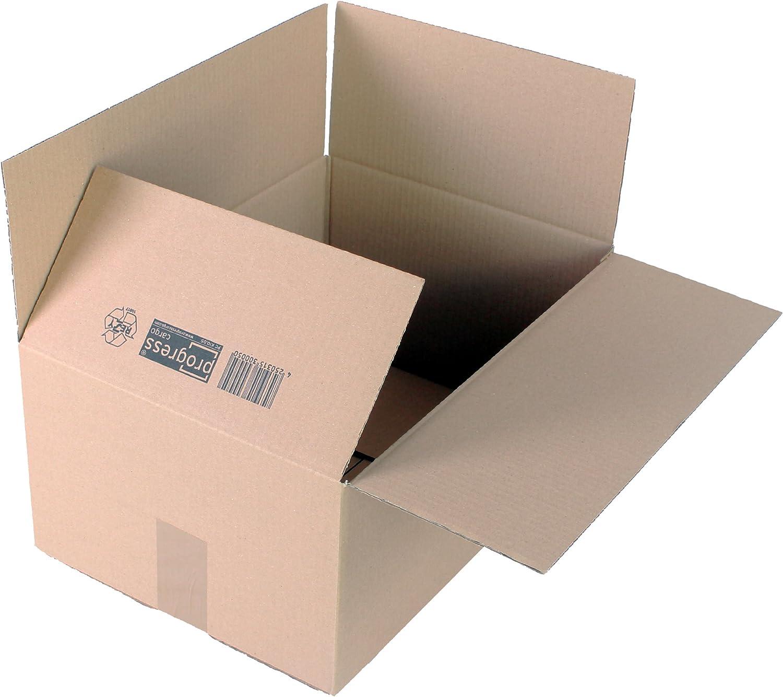 ProgressCARGO Wellpapp-Faltkarton PC K10.05, 1-wellig, DIN A3, 427 x 304 304 304 x 200 mm, 20-er Pack, braun B00E87EILS    | Auf Verkauf  5a375c