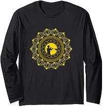 Mandala Glass Blower Shirt for Glass Blowing Fans - Yellow