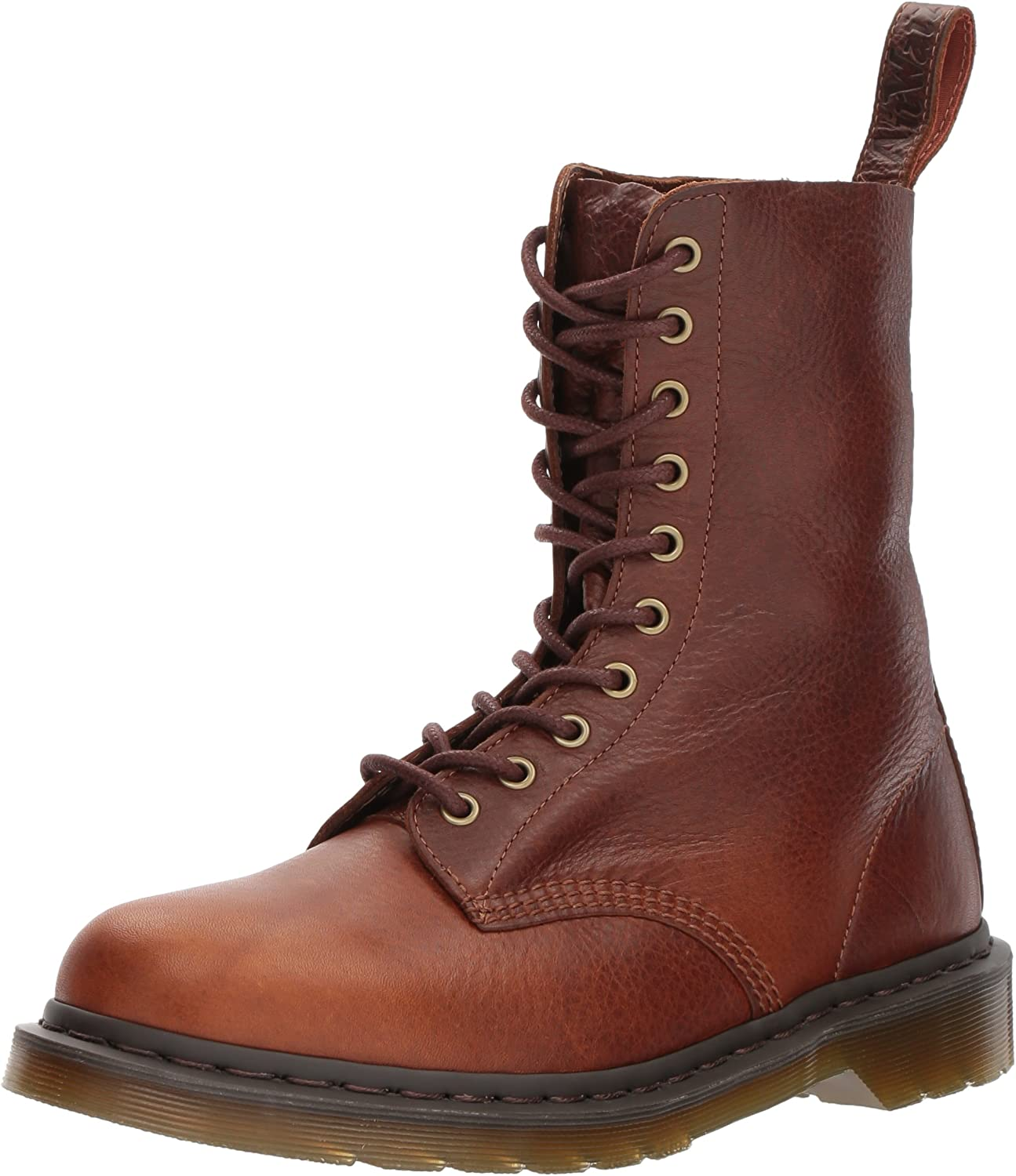Dr. Martens 1490 Tan Harvest Leather Fashion Boot