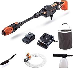 Yard Force Aquajet Lw C02 Accu-Hogedrukreiniger Voor Irrigatie, Reiniging En Desinfectie, 20 V/2,5 Ah, Max. 22 Bar Druk, D...