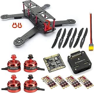 SpeedyFPV ZMR250 FPV Racing Drone Kit with F3 Flight Controller, 2205 Motors, 35A ESC