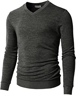 Mens Casual Slim Fit Pullover Sweaters Knitted Tops Lightweight Longsleeve Basic Designed
