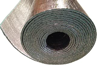 Car Insulation - 4' x 35' Roll (140 Sqft) Sound Deadener & Heat Barrier Mat - Automotive Lightweight Thermal Insulation