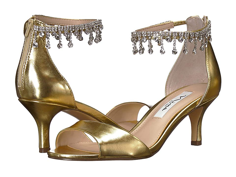 Nina Chianne (Platino Smooth Metallic) High Heels