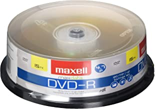Maxell 638006 DVD-R 4.7 Gb Spindle with 2 Hour Recording Time and Superior Recording Layer Technology with 100 Year Archiv...