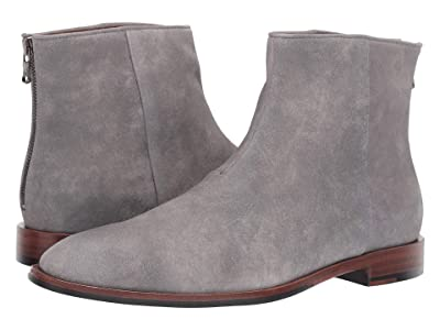 John Varvatos NYC Back Zip Boot (Ash) Men
