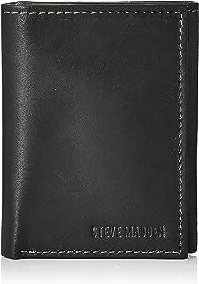 Steve Madden  Mens Wallet, Black, One Size - N80002