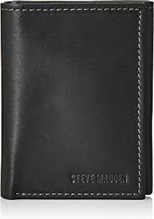 Steve Madden Summer 18 Mens Wallet, Black, One Size - N80002