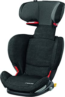 Maxi-Cosi RodiFix AirProtect Child Car Seat, ISOFIX Booster Seat, Extra Protection, 3.5-12 Years, 15-36 kg, Nomad Black