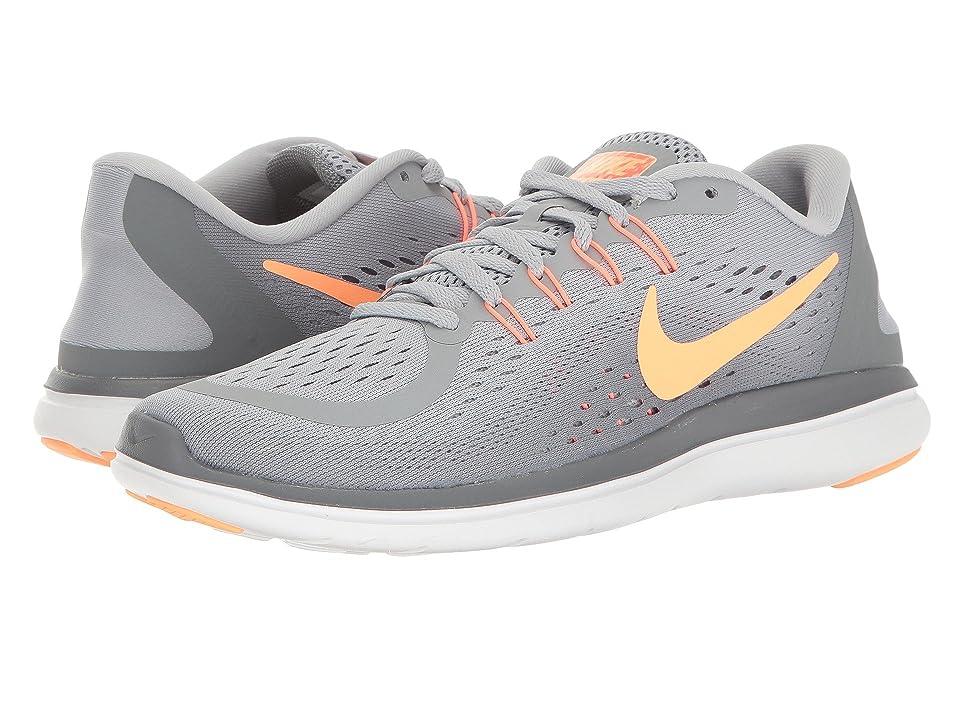 Nike Flex RN 2017 (Wolf Grey/Sunset Glow/Cool Grey) Women