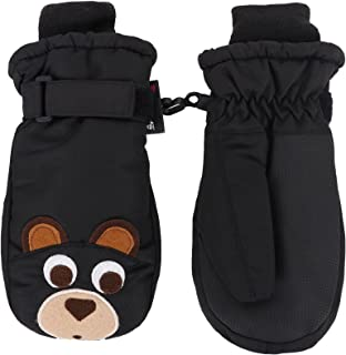Toppers Kids Boys Girls Thinsulate Lined Waterproof Windproof Ski Mitten Gloves